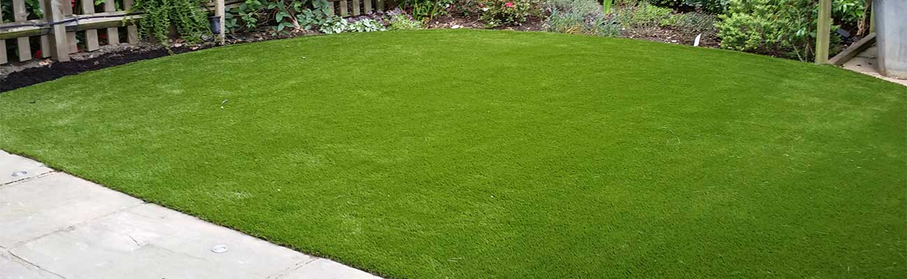 North London artificial grass installation, Crouch End, N8