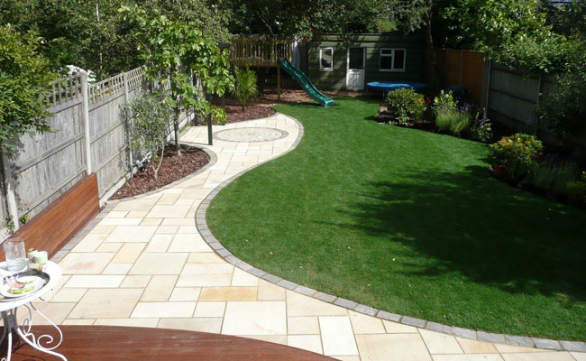 North London landscaped garden, Crouch End, N8